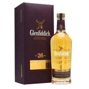 Виски Glenfiddich 26 Years Old Excellence (Гленфиддик 26 лет) 43% 0.7L