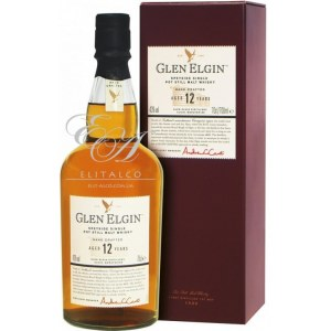 Виски Glen Elgin 12 y.o. (Глен Элгин 12 лет) 43% 0.7L