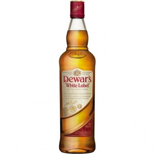 Виски Dewar's White Label (Дюарс Вайт Лэйбл) 40% 1L